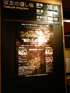 日本バレエ協会公演『眠れる森の美女』(3/20<br />  夜)